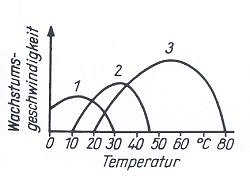 Abbildung 77 abhängigkeit des bakterienwachstums von der temperatur